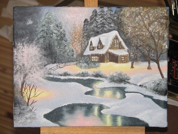 Peintures mariepier for Peintures sur toile